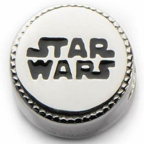 Zales Persona for Disney Jewelry - Zales Persona for Disney Star Wars Logo Charm